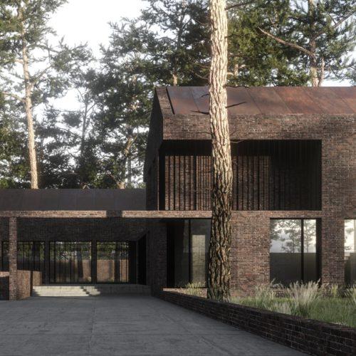 Архитектура дома G-HOUSE