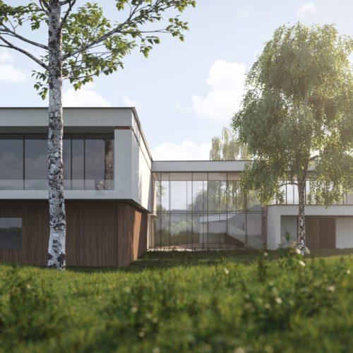 Архитектура дома S-HOUSE